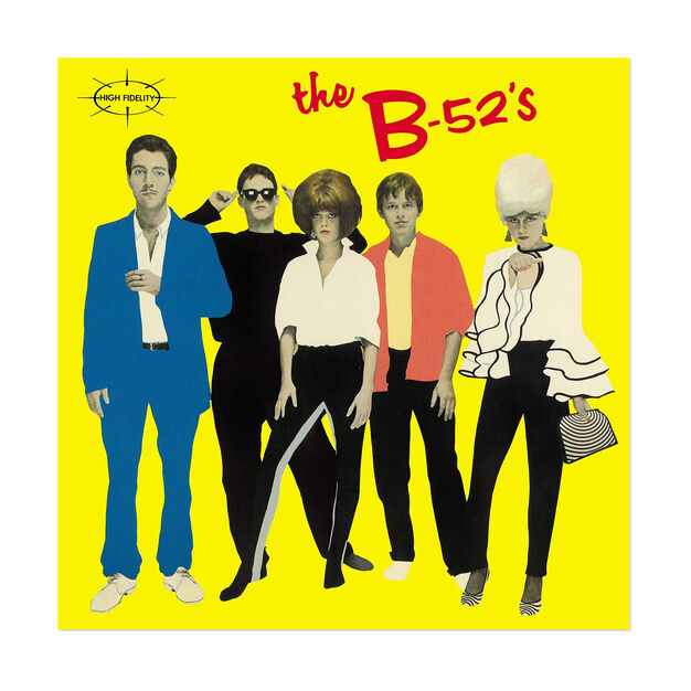 The B-52's: The B-52's Vinyl Record in color