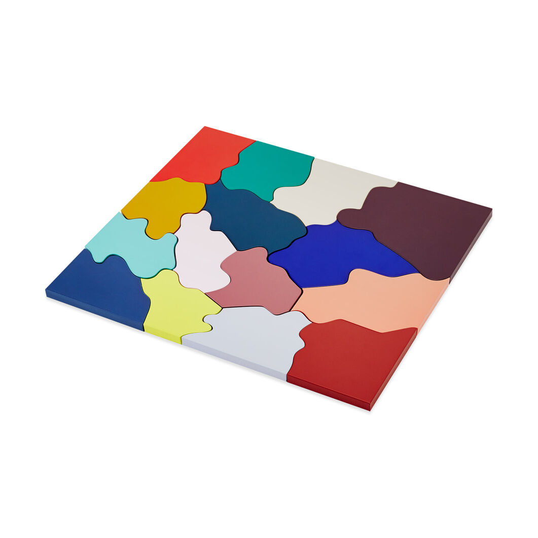 Color Wood Puzzle in color