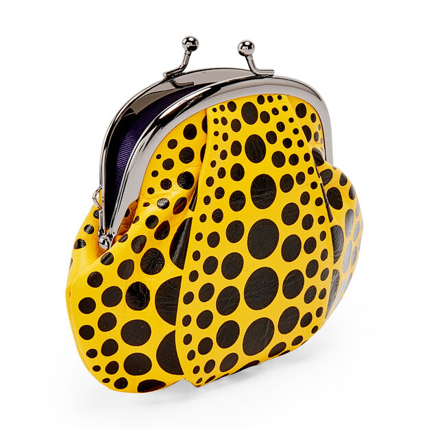 Yayoi Kusama Pumpkin Coin Purse in color