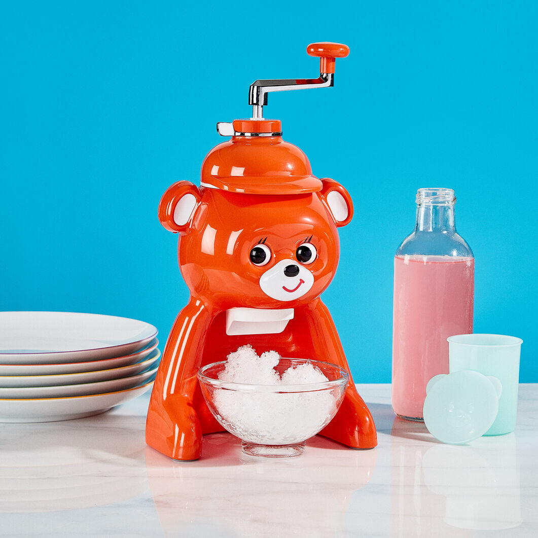 Bear Ice Shaver in color Orange