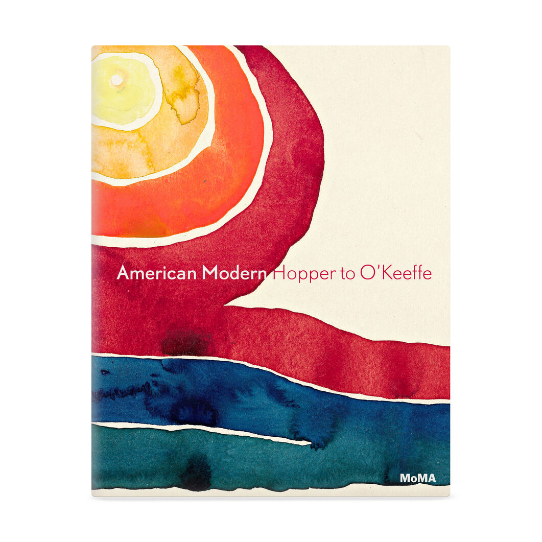 American Modern Book in color