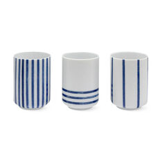 Striped Cups in color