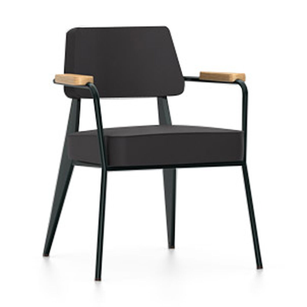 Fauteuil Direction Chair in color Black