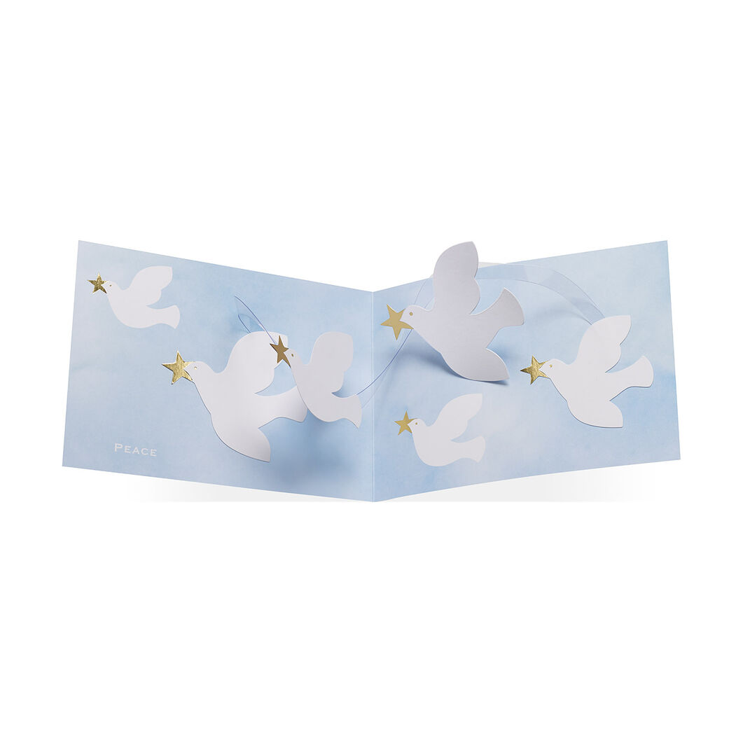 Twirling Doves Holiday Cards (Box of 8) in color
