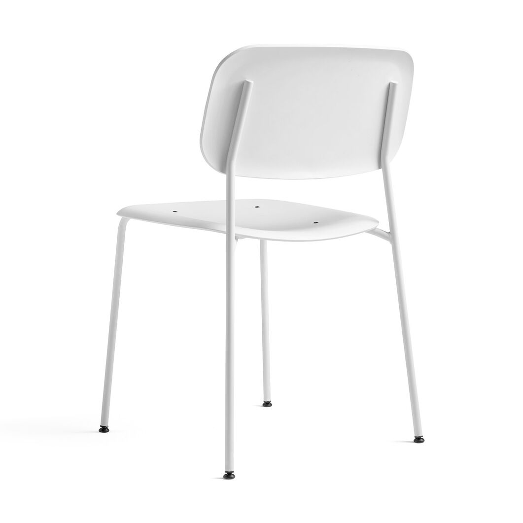 HAY Soft Edge P10 Stackable Chairs in color White