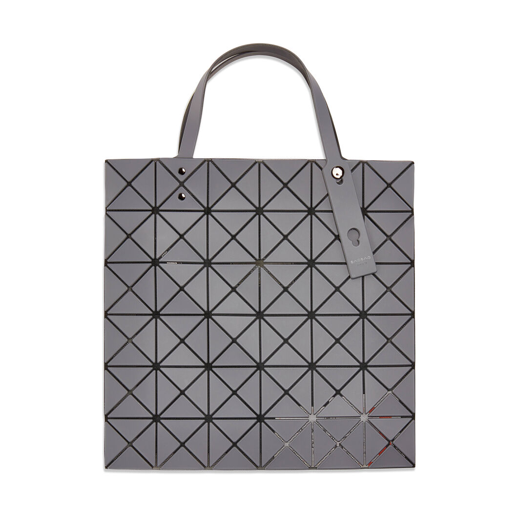 BAO BAO ISSEY MIYAKE Bi-Color Tote Bag in color Grey/ Light Grey