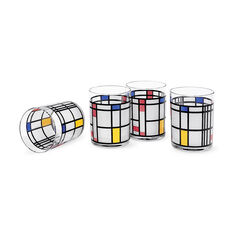 Mondrian Tumblers in color
