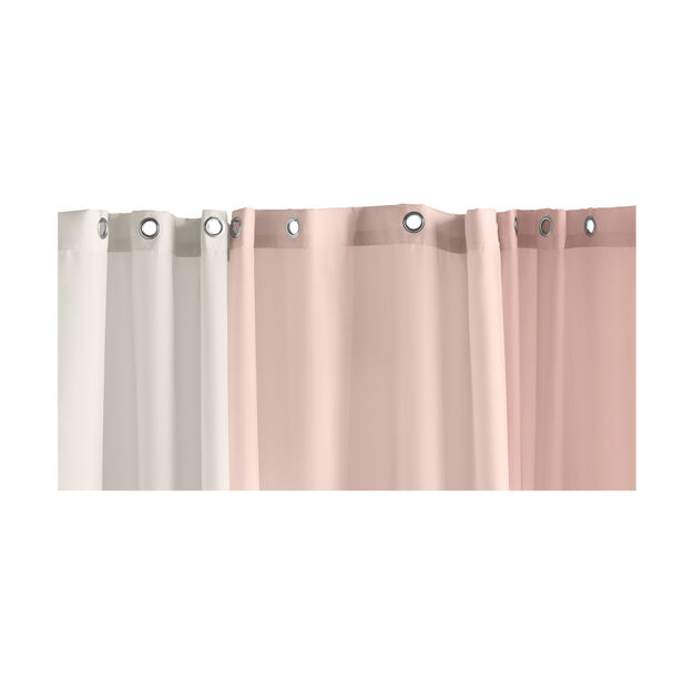 HAY Aquarelle Shower Curtain in color Rose