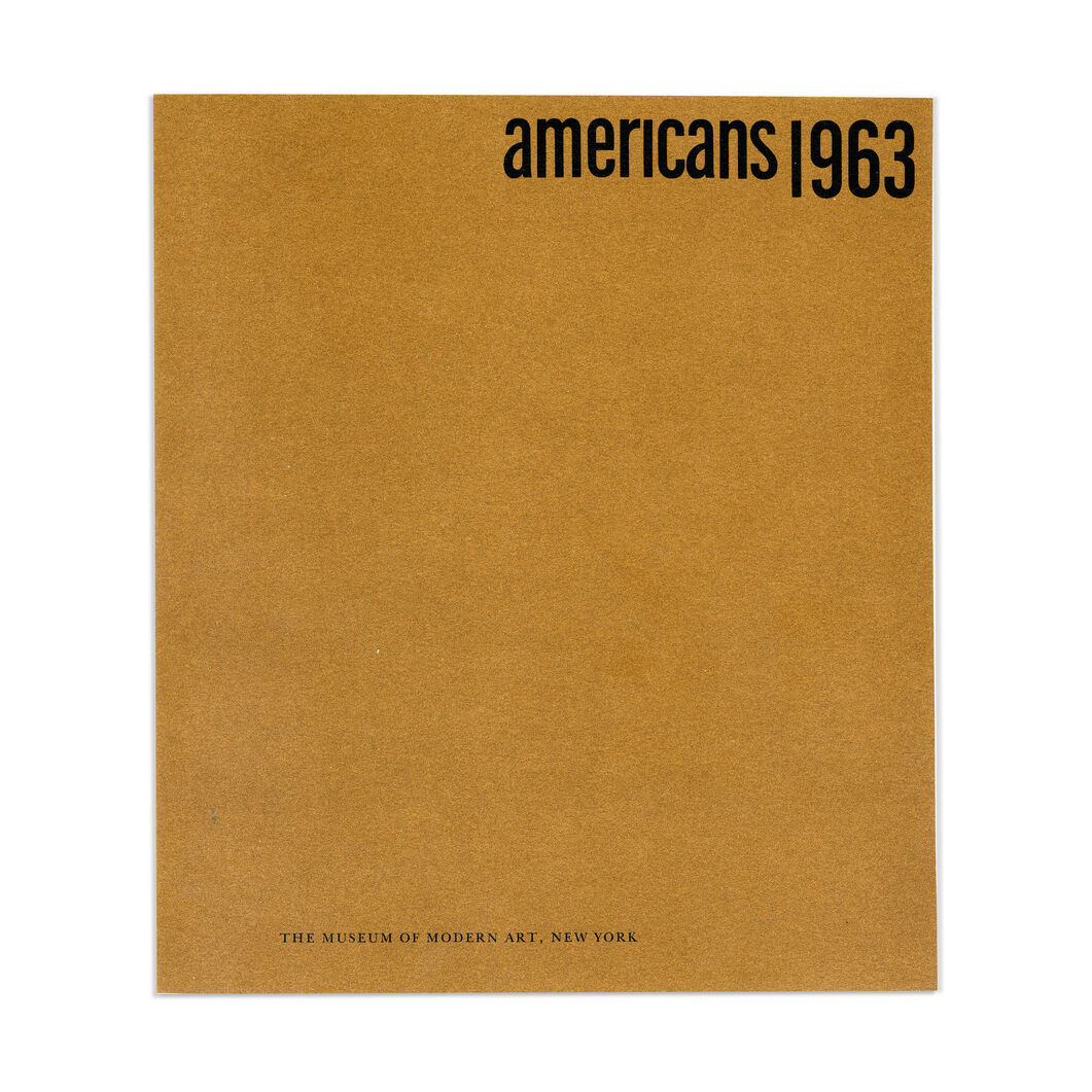 Americans 1963 - Paperback in color