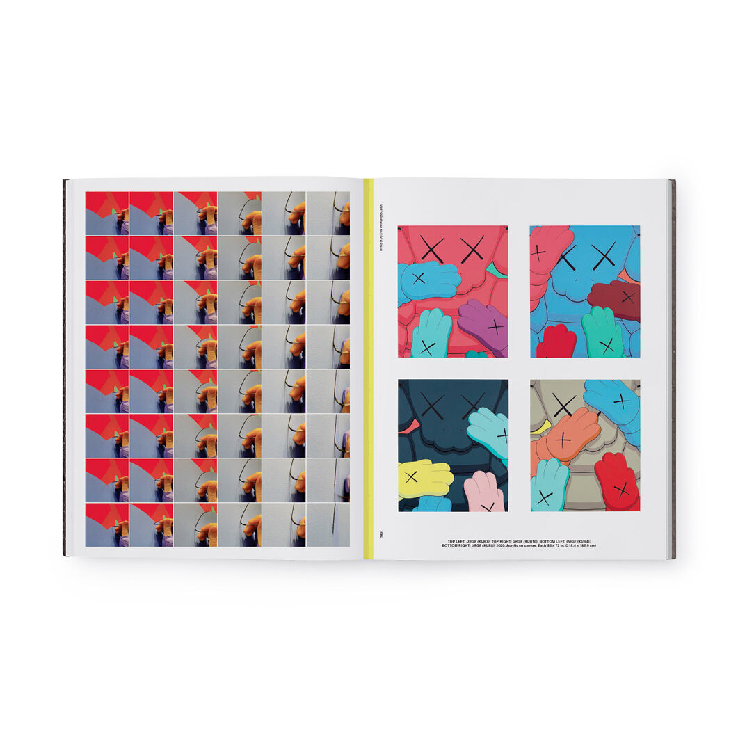 KAWS What Party - Hardcover (Pre-order) in color Black