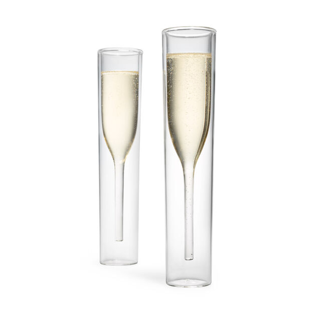 Inside Out Champagne Glasses in color