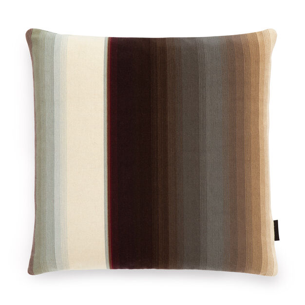 Maharam Blended Stripe Pillow by Paul Smith in color Mesa Two