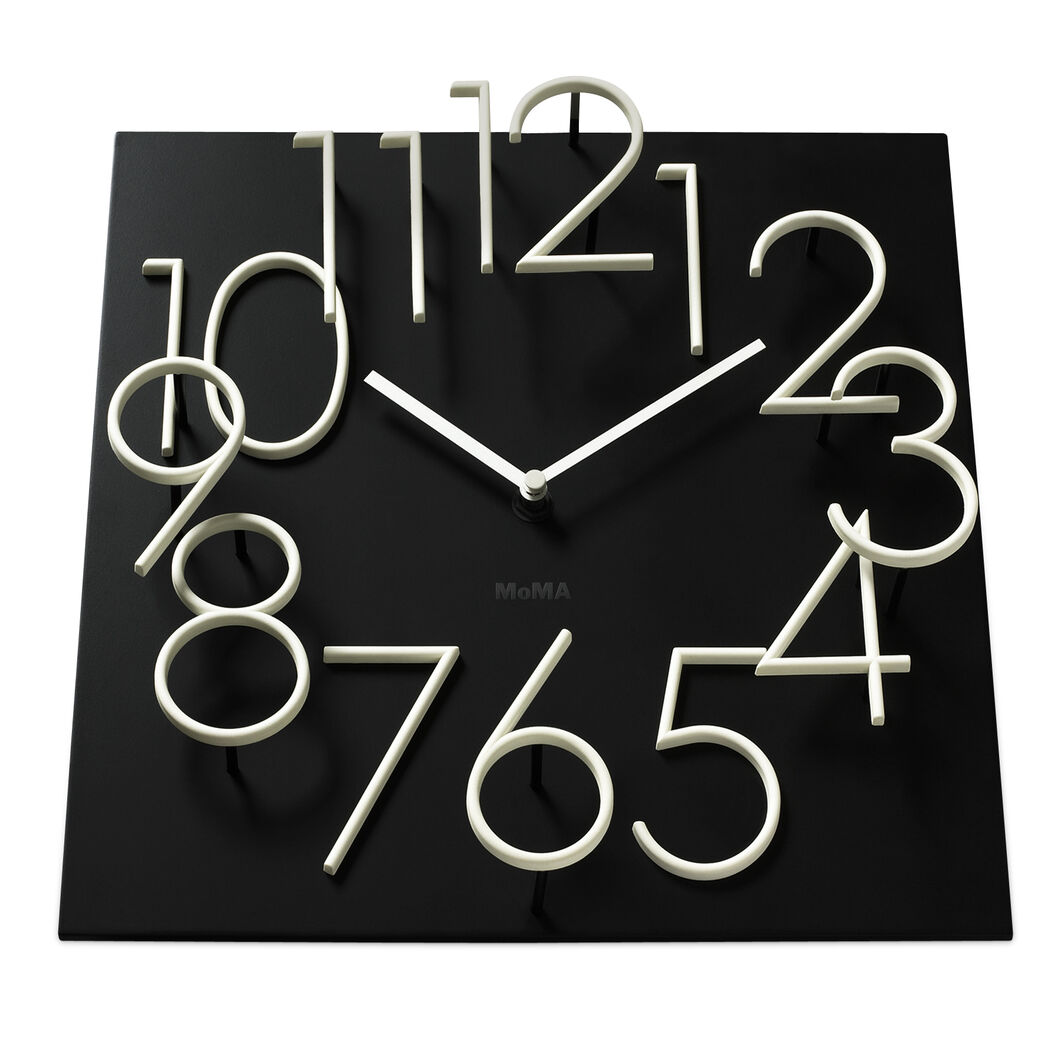 Glow In The Dark Wall Clock in color