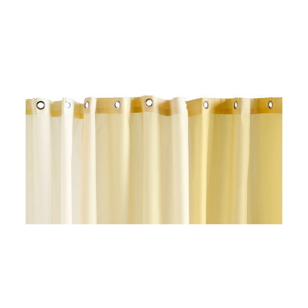 HAY Aquarelle Shower Curtain in color Buttercup