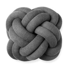 Knot cushion Gray in color Gray