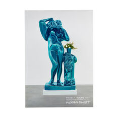 Jeff Koons: Metallic Venus Poster in color