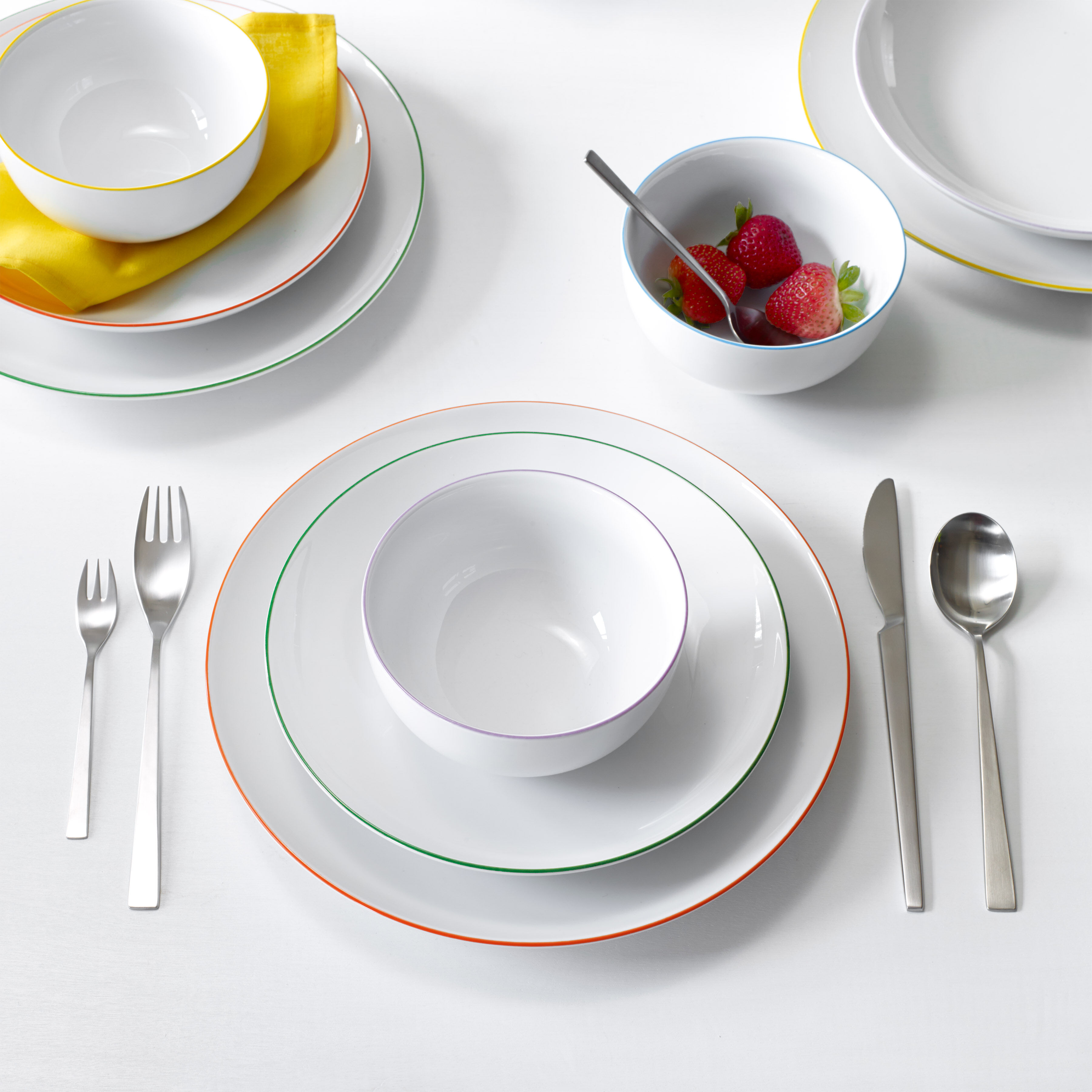 Cucina Colori Dinnerware Bowl Set in color & Cucina Colori Dinnerware Bowl Set | MoMA Design Store
