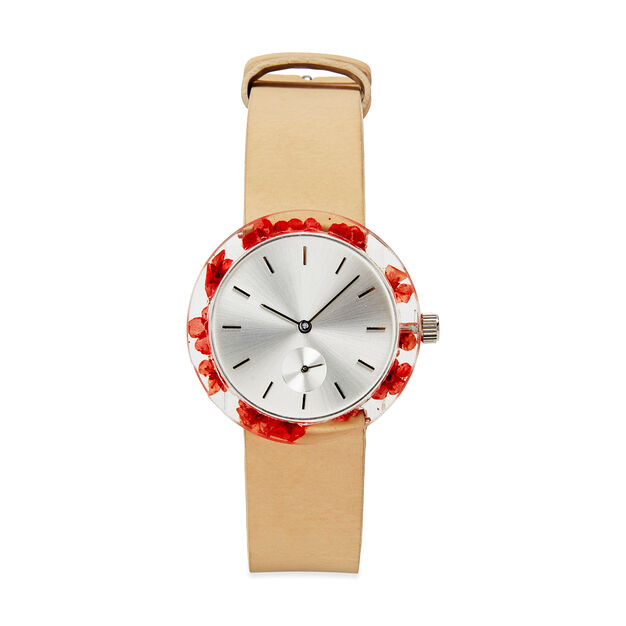 Botanist Watch in color Red