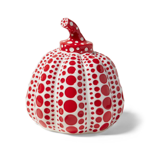 Kusama Pumpkins in color Red