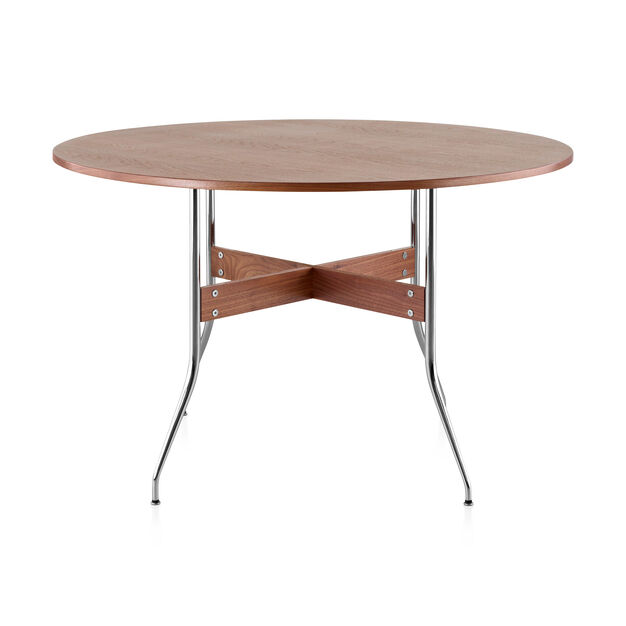 George Nelson Trade Swag Leg Round Top Dining Table