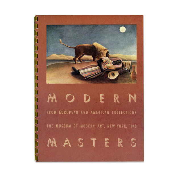 Modern Masters from European and American Collections - Hardcover in color