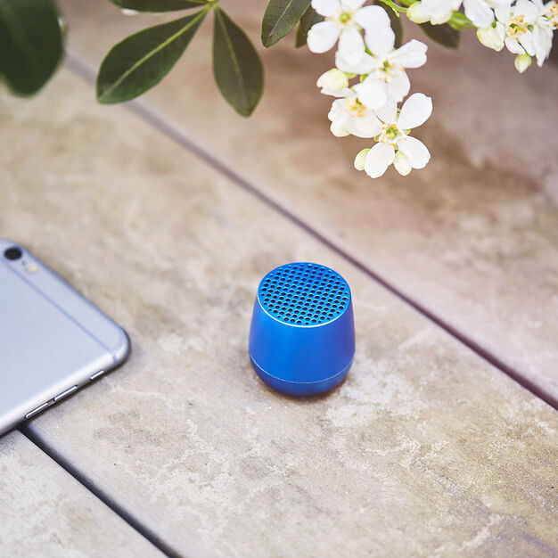 Lexon Mino Pairable Speaker in color Blue