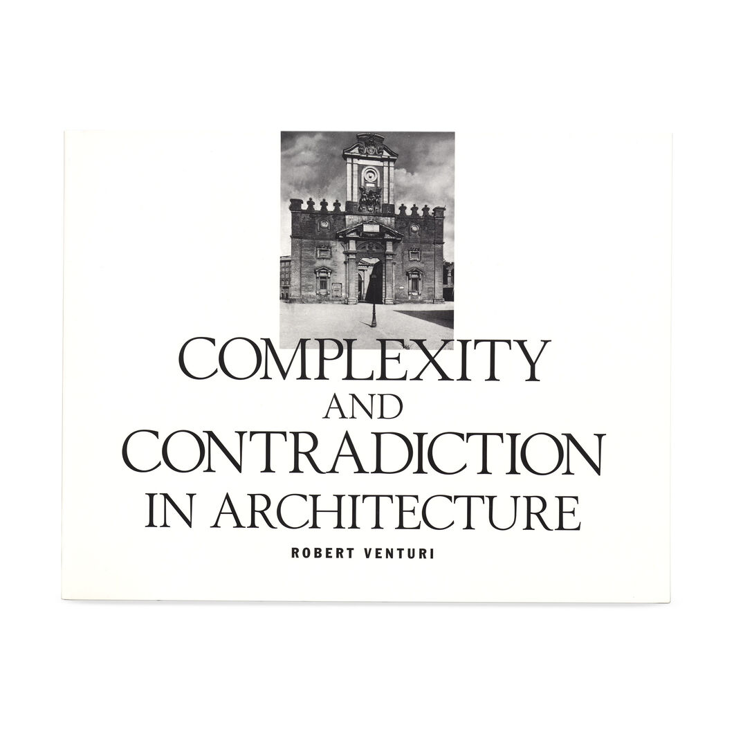 Complexity and Contradiction in Architecture (PB) in color