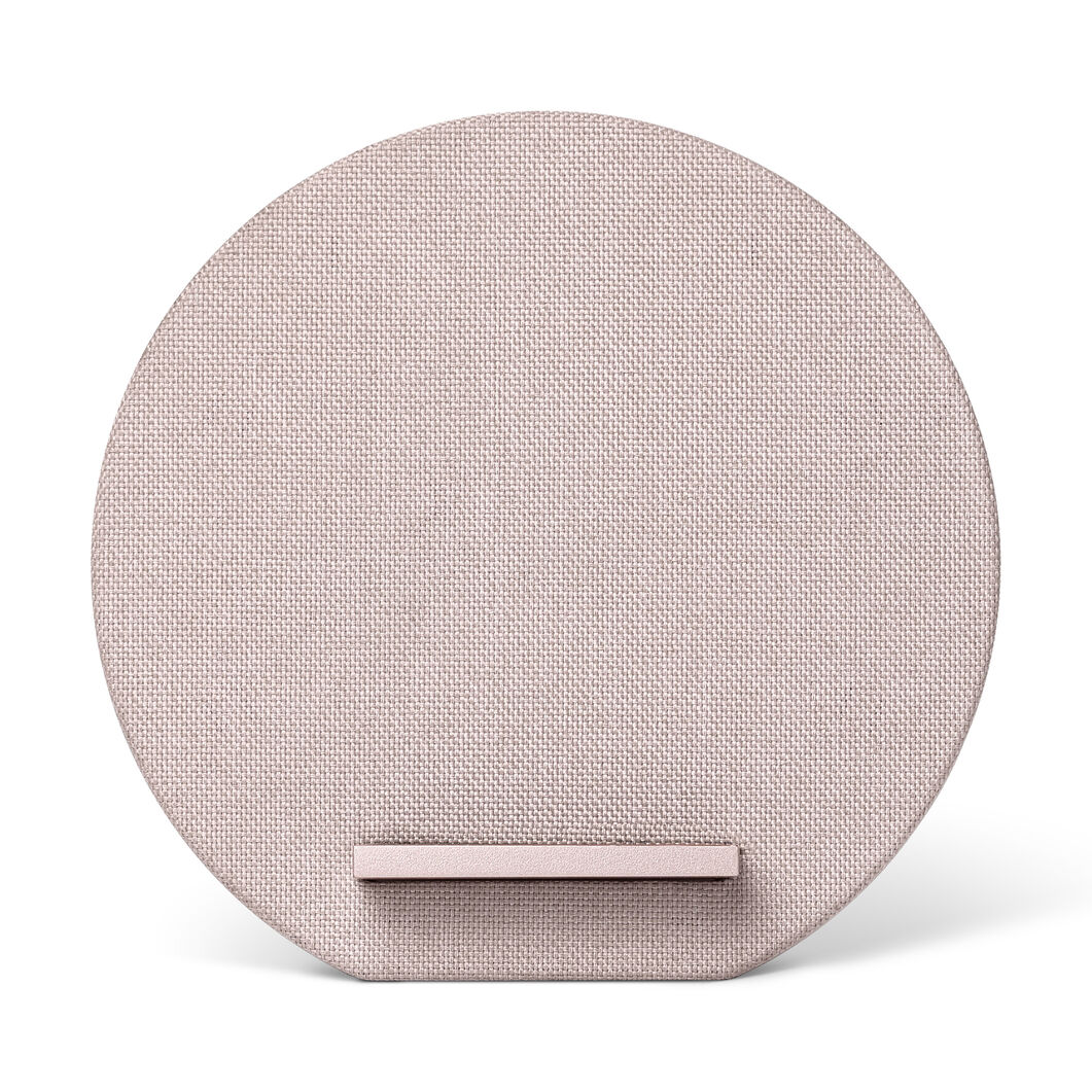 Dock Wireless Charger in color Rose