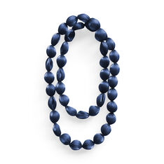 Pure Pleats Necklace in color Blue