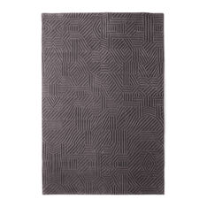 Nanimarquina African Pattern Rug Gray in color Gray