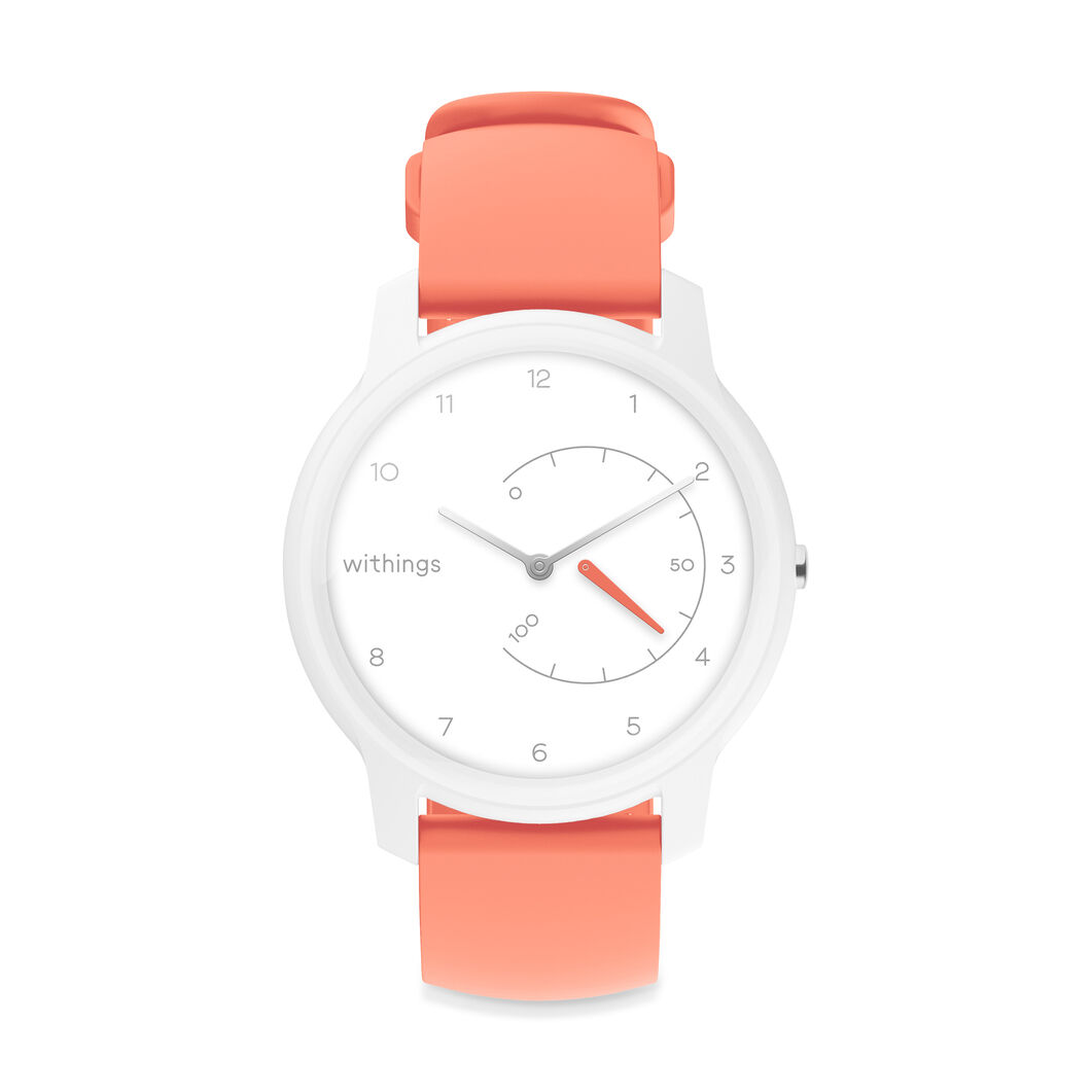 Withings Move Activity-Tracking Smart Watch in color Pink