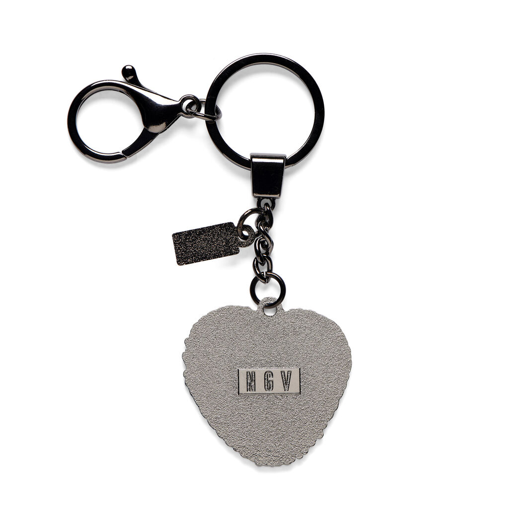 KAWS HEART Keyring in color