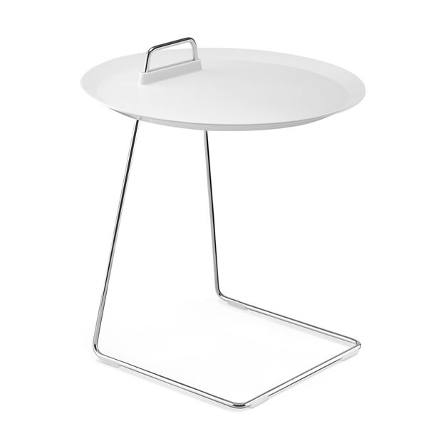 Porter Tray Table White in color White