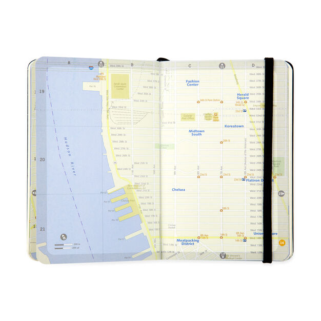 Moleskine City Notebook: New York City in color