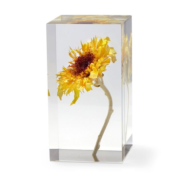Van Gogh Sunflower Objet d'Art in color