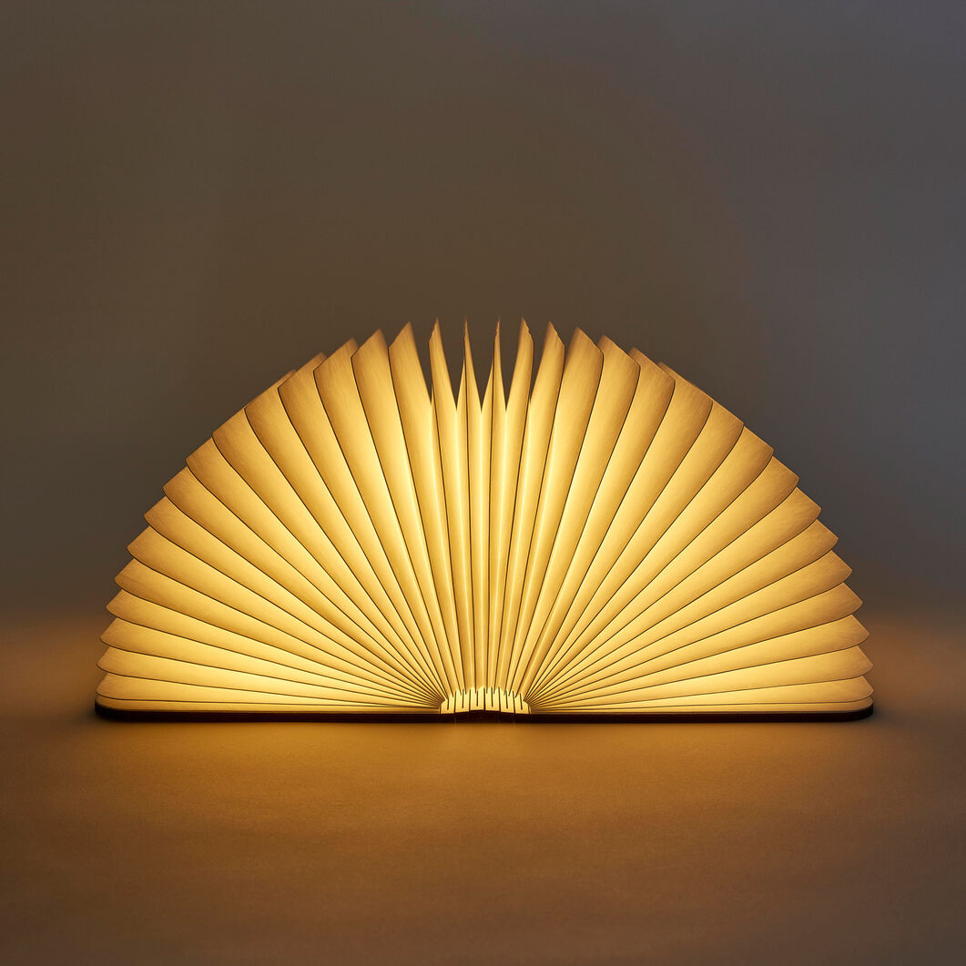 Lumio Book Lamp in color Maple