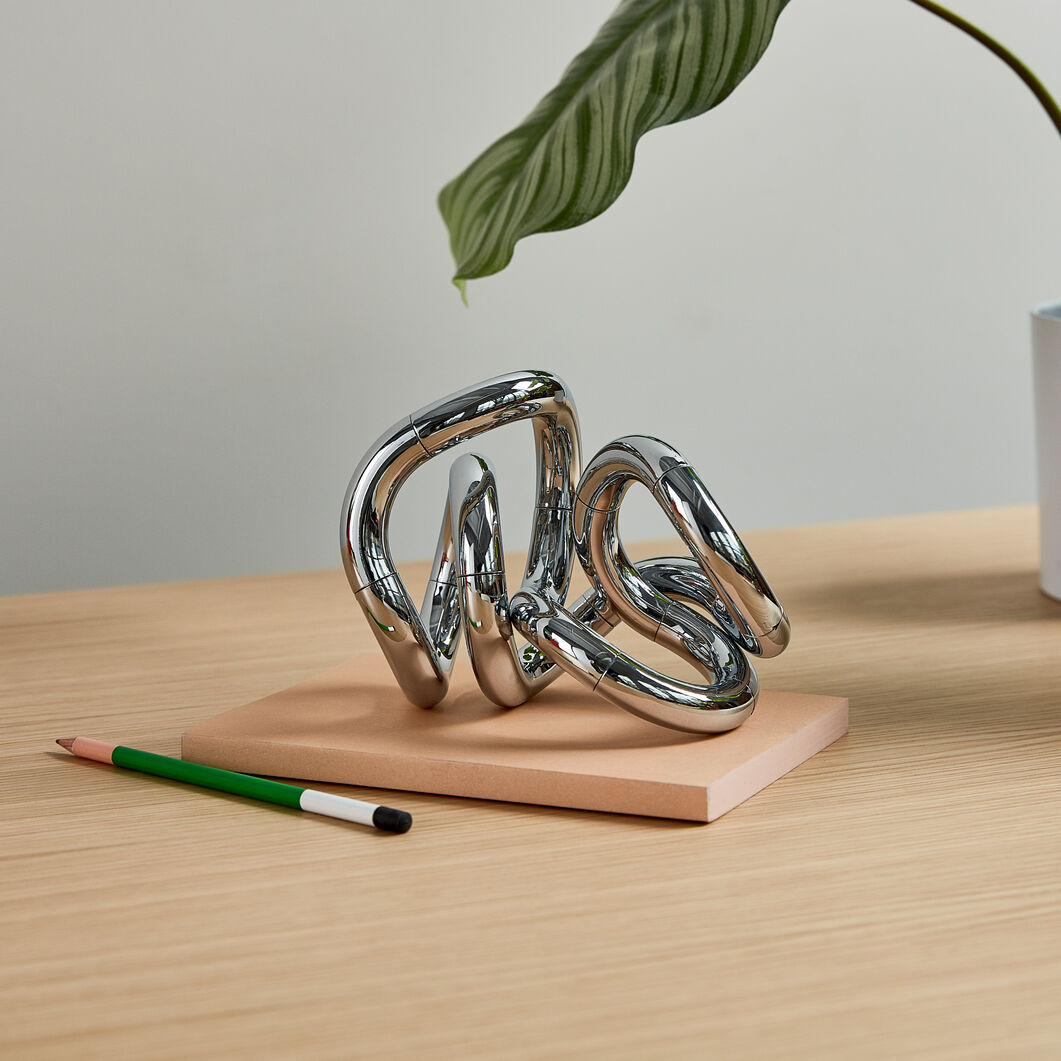 Tangle Chrome Objets in color Chrome