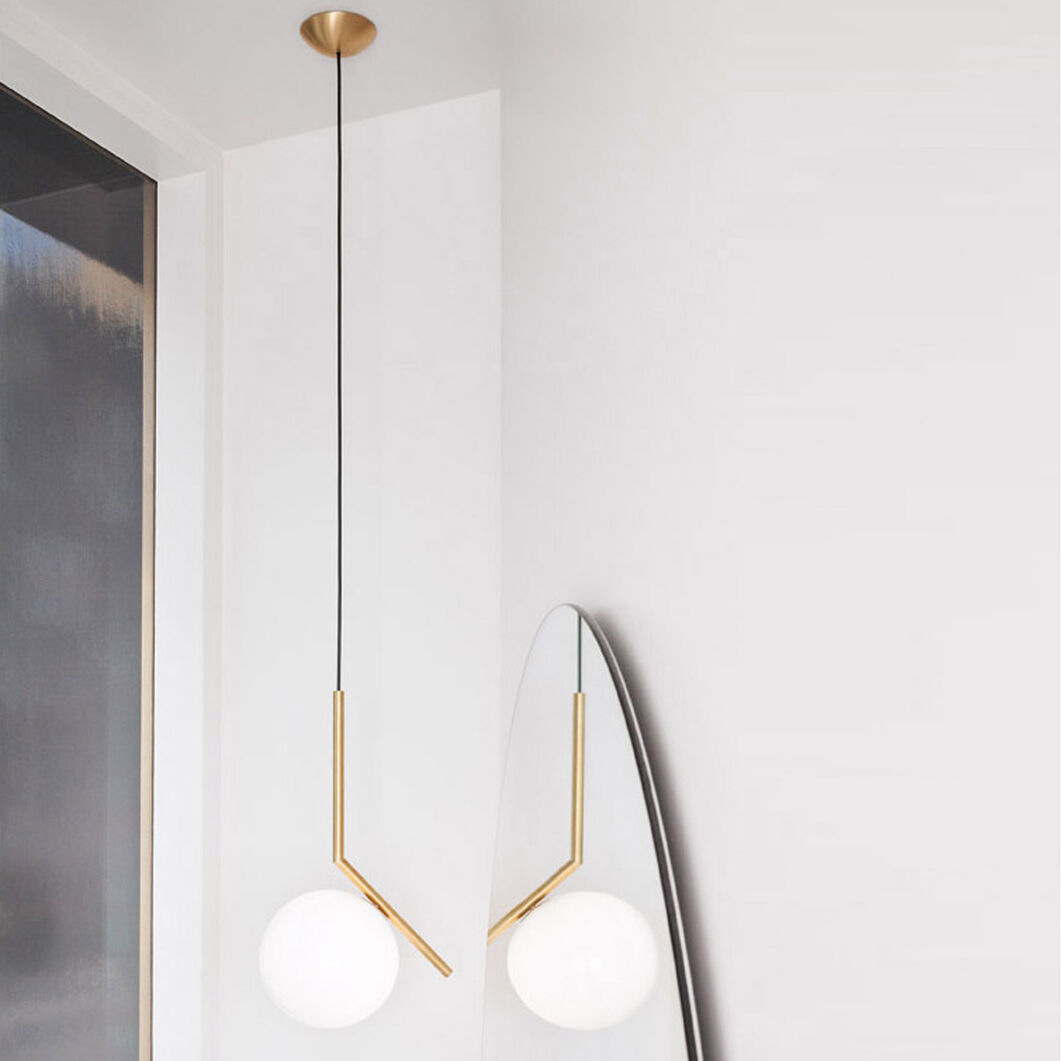 Flos IC Pendant Light S1, Brass in color