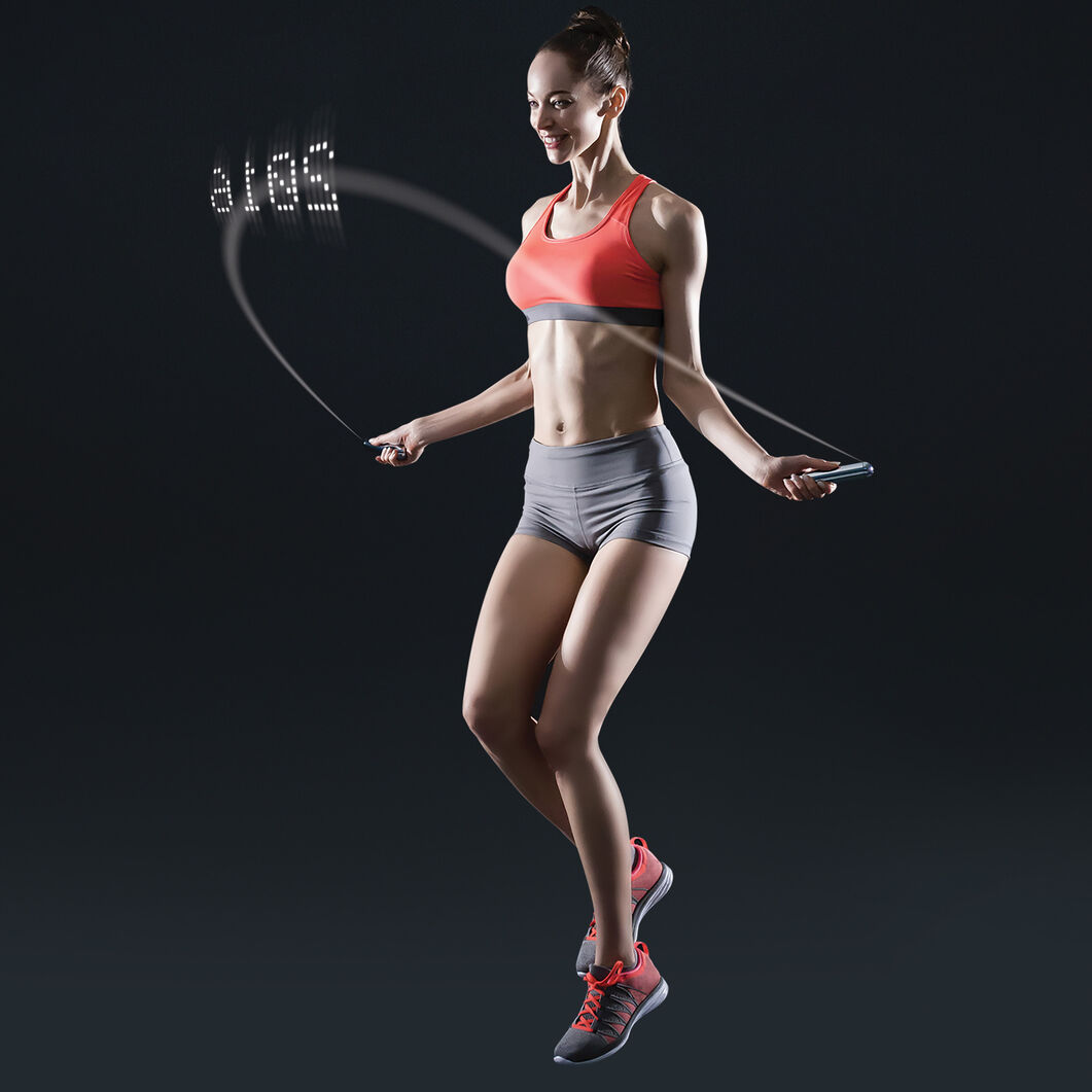 Smart Jump Rope in color Chrome