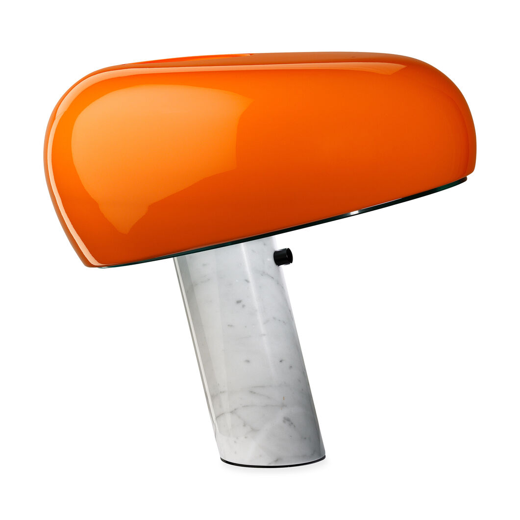 Snoopy Lamp in color Orange