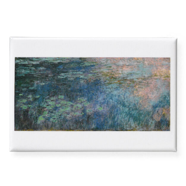 Monet: Water Lilies Magnet in color