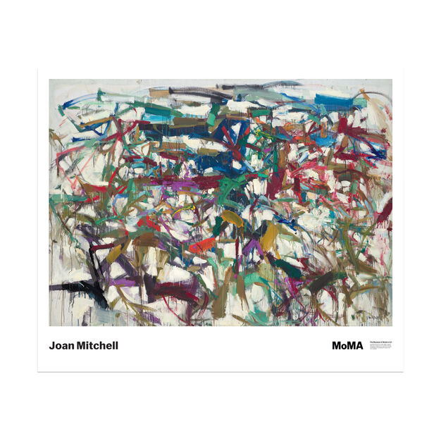 Joan Mitchell: Ladybug Poster in color