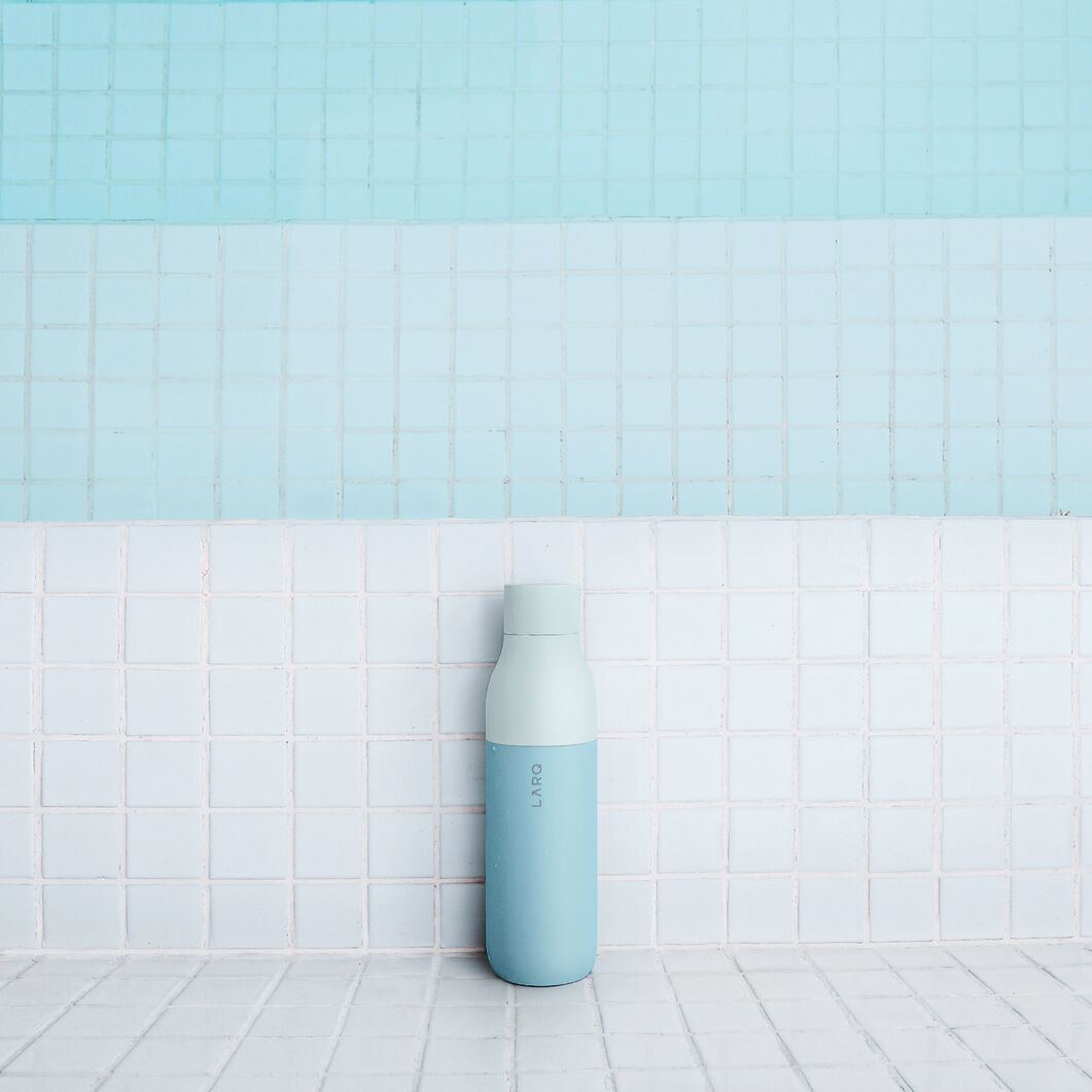 LARQ Self-Cleaning Water Bottle in color Mint