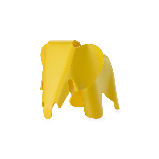 Colorful Eames® Elephant in color Yellow