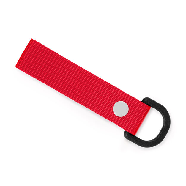 Riga Keychain in color Red