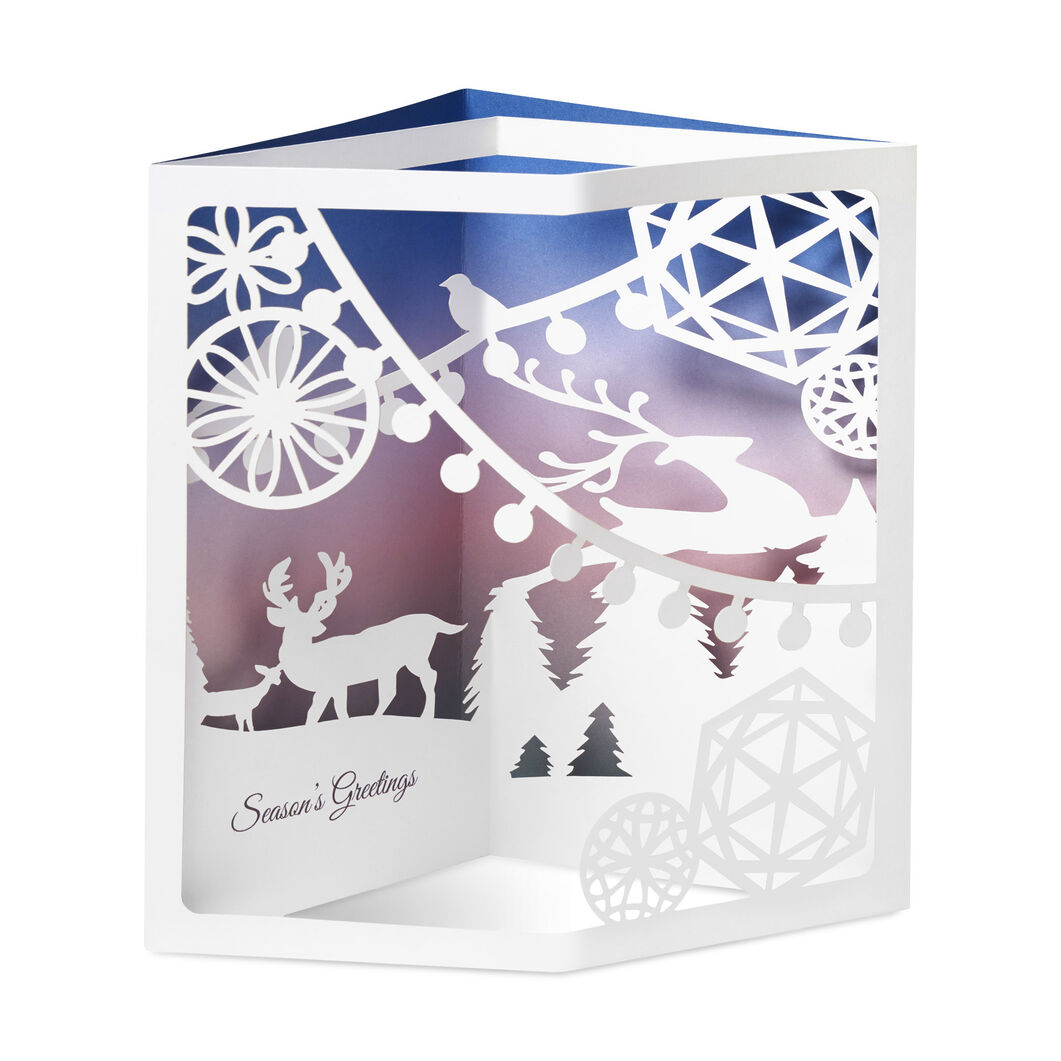 Winter Wonderland Holiday Cards (Box of 8) in color