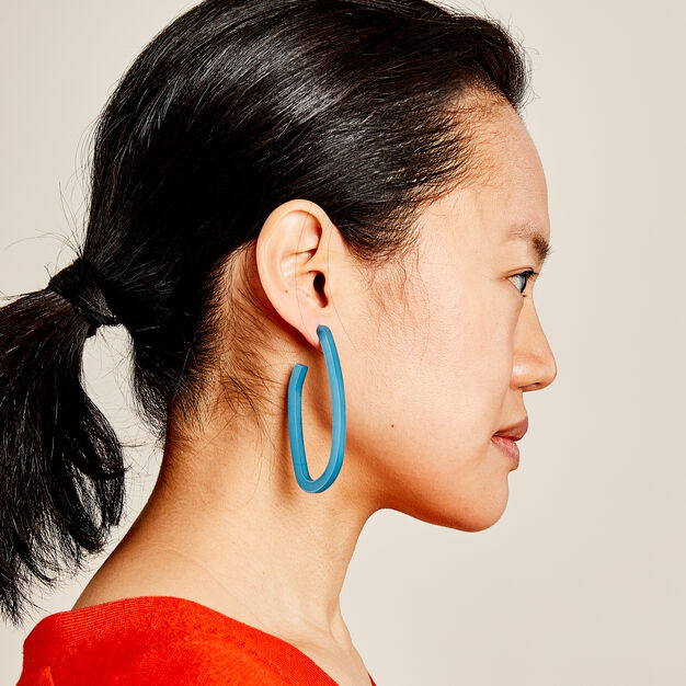 Rachel Comey Maya Earrings in color Blue