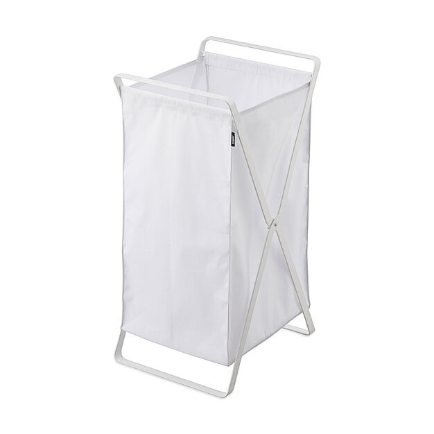 Collapsible Laundry Basket in color White