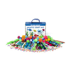 Kid Made Modern Go Wild & Aquatic Craft Kits in color Aquatic