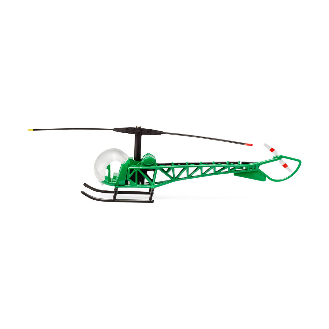 Miniature Bell 47D1 Helicopter Toy in color